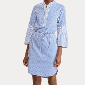 Ralph Lauren Bell Sleeve Bengal Shirtdress